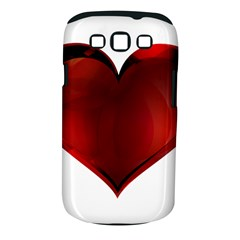 Heart Gradient Abstract Samsung Galaxy S Iii Classic Hardshell Case (pc+silicone)