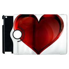 Heart Gradient Abstract Apple Ipad 3/4 Flip 360 Case