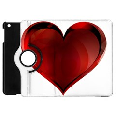 Heart Gradient Abstract Apple Ipad Mini Flip 360 Case