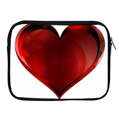 Heart Gradient Abstract Apple Ipad 2/3/4 Zipper Cases