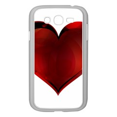 Heart Gradient Abstract Samsung Galaxy Grand Duos I9082 Case (white)