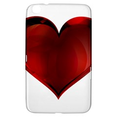 Heart Gradient Abstract Samsung Galaxy Tab 3 (8 ) T3100 Hardshell Case