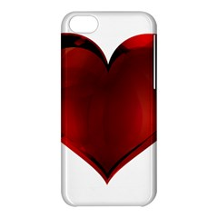 Heart Gradient Abstract Apple Iphone 5c Hardshell Case