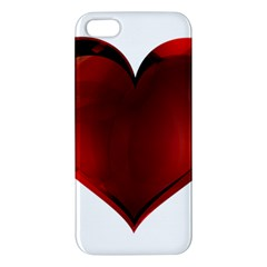 Heart Gradient Abstract Iphone 5s/ Se Premium Hardshell Case