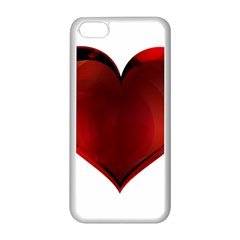 Heart Gradient Abstract Apple Iphone 5c Seamless Case (white)
