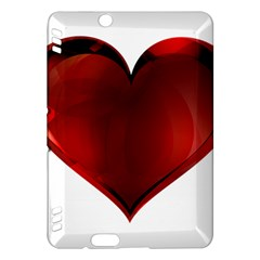 Heart Gradient Abstract Kindle Fire Hdx Hardshell Case