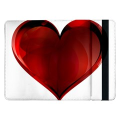 Heart Gradient Abstract Samsung Galaxy Tab Pro 12 2  Flip Case
