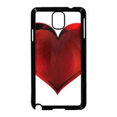 Heart Gradient Abstract Samsung Galaxy Note 3 Neo Hardshell Case (black)