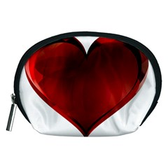 Heart Gradient Abstract Accessory Pouches (medium)