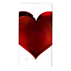 Heart Gradient Abstract Galaxy Note 4 Back Case