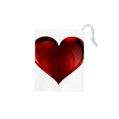 Heart Gradient Abstract Drawstring Pouches (xs)