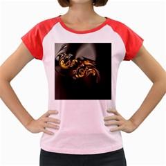 Fractal Mathematics Abstract Women s Cap Sleeve T Shirt