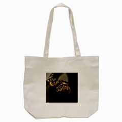 Fractal Mathematics Abstract Tote Bag (cream)
