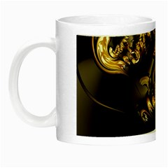 Fractal Mathematics Abstract Night Luminous Mugs