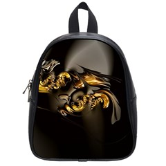 Fractal Mathematics Abstract School Bags (small)