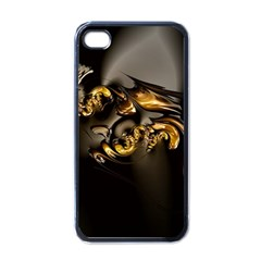 Fractal Mathematics Abstract Apple Iphone 4 Case (black)