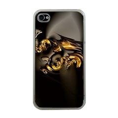 Fractal Mathematics Abstract Apple Iphone 4 Case (clear)