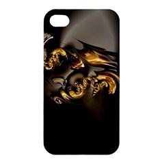 Fractal Mathematics Abstract Apple Iphone 4/4s Premium Hardshell Case