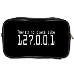 There s No Place Like Number Sign Toiletries Bags