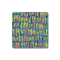 Surface Pattern Green Square Magnet