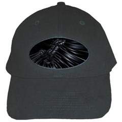 Fractal Mathematics Abstract Black Cap