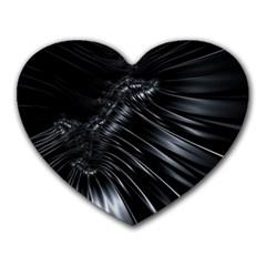 Fractal Mathematics Abstract Heart Mousepads