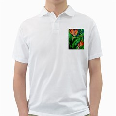 Flowers Art Beautiful Golf Shirts