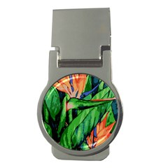 Flowers Art Beautiful Money Clips (round)