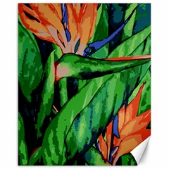 Flowers Art Beautiful Canvas 16  X 20