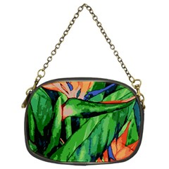 Flowers Art Beautiful Chain Purses (two Sides)