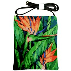 Flowers Art Beautiful Shoulder Sling Bags