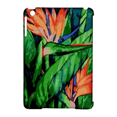 Flowers Art Beautiful Apple Ipad Mini Hardshell Case (compatible With Smart Cover)