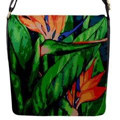 Flowers Art Beautiful Flap Messenger Bag (s)