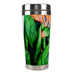 Flowers Art Beautiful Stainless Steel Travel Tumblers