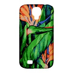 Flowers Art Beautiful Samsung Galaxy S4 Classic Hardshell Case (pc+silicone)