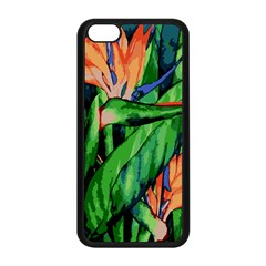 Flowers Art Beautiful Apple Iphone 5c Seamless Case (black)