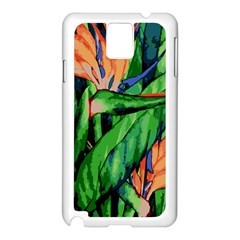 Flowers Art Beautiful Samsung Galaxy Note 3 N9005 Case (white)