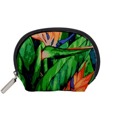 Flowers Art Beautiful Accessory Pouches (small)