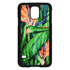 Flowers Art Beautiful Samsung Galaxy S5 Case (black)