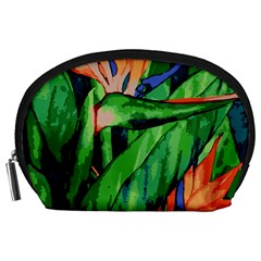 Flowers Art Beautiful Accessory Pouches (large)