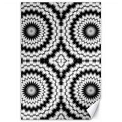 Pattern Tile Seamless Design Canvas 12  X 18