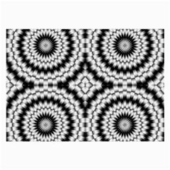Pattern Tile Seamless Design Large Glasses Cloth (2 Side)