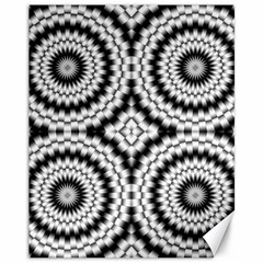 Pattern Tile Seamless Design Canvas 11  X 14