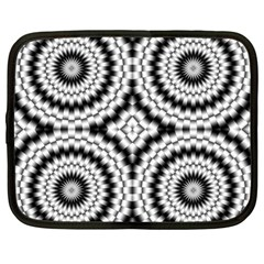 Pattern Tile Seamless Design Netbook Case (large)