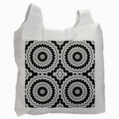 Pattern Tile Seamless Design Recycle Bag (one Side)