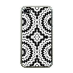 Pattern Tile Seamless Design Apple Iphone 4 Case (clear)