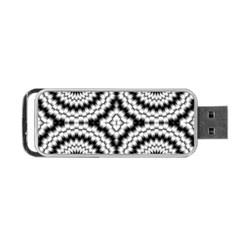 Pattern Tile Seamless Design Portable Usb Flash (one Side)