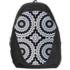 Pattern Tile Seamless Design Backpack Bag