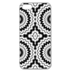 Pattern Tile Seamless Design Apple Seamless Iphone 5 Case (clear)