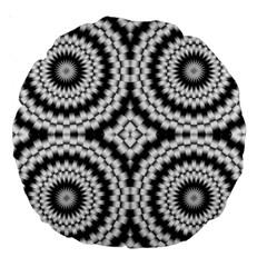 Pattern Tile Seamless Design Large 18  Premium Round Cushions